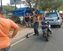 Kocak, Pria Ini Batal Ditilang Polisi Setelah Mengancam Akan Telanjang Bulat