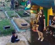 Viral Video 'Dangdutan' di Area Pemakaman, Ini Fakta Sebenarnya!