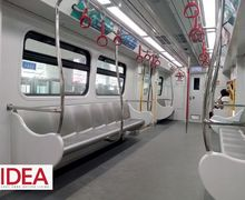 Mengintip Stasiun LRT Velodrome Rawamangun,  Adem Meski Tak Pakai AC