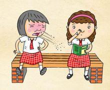 Saat Bersin, Sebaiknya Tidak Menutup Mulut dengan Tangan, Kenapa, ya?