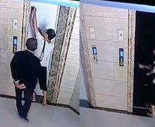 CCTV: Seorang Pria Tua 'Terhisap' Lift dan Tewas Secara Tragis, Netizen Kebingungan dengan Kasus Aneh Ini
