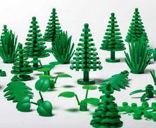 Wow, Lego Berbentuk Tumbuhan Ini Benar-Benar Terbuat dari Tumbuhan