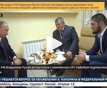Dengar Khabib Nurmagomedov Bakal Dihukum, Putin Langsung Turun Tangan