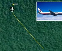 Hilang Sejak 2014, Pesawat MH370 Malaysia Airlines Terekam Google Maps di Tengah Hutan Belantara Kamboja