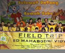 Serunya Kunjungan Teman-Teman SD Mahabodhi Vidya ke Rumah Bobo
