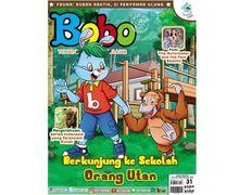 Keren! Ada Sekolah Orang Utan di Majalah Bobo Edisi 31 (Terbit 8 November 2018)