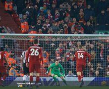 Hasil Liga Inggris - Liverpool Hadiahkan Juara Paruh Musim di Boxing Day