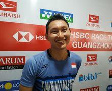 Indonesia Masters 2019 - Sony Dwi Kuncoro Melaju ke Babak Utama