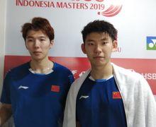 Hasil Indonesia Open 2019 - Bantai Saudara Sendiri, Duo Menara China Tunggu Marcus/Kevin di Semifinal