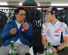 Kunjungi Indonesia, Marc Marquez Sampaikan Terima Kasih Pakai Bahasa Sunda