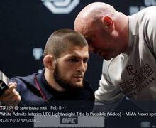 Khabib Nurmagomedov Rayakan Satu Tahun Gelar Juara Dunia UFC Kelas Ringan dengan Bersyukur