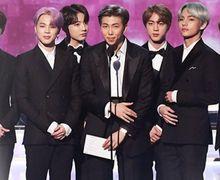 BTS Bacakan Nominasi di Grammy Awards, RM: Kami Bakal Kembali!