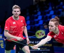 Piala Sudirman 2019 - Wakil Inggris Banting Raket Usai Menang Dramatis atas Denmark