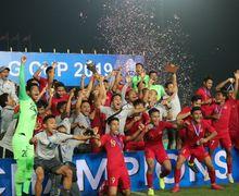 Bonus Miliaran Rupiah Menanti Timnas U-22 Indonesia Setelah Jadi Juara Piala AFF U-22 2019