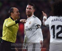 Dimana Sergio Ramos saat Lionel Messi bersama Barcelona Merayakan Gelar Juara Liga Spanyol?