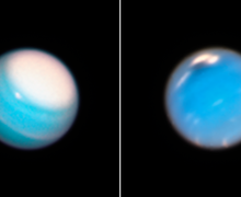 Gambar dari Teleskop Luar Angkasa Ungkap Cuaca di Uranus dan Neptunus