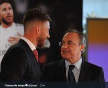 Sempat Terlibat Cekcok, Sergio Ramos dan Florentino Perez Dikabarkan Bakal Berdamai