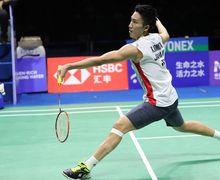 Hasil Piala Sudirman 2019 - China Bawa Pulang Medali Emas Usai Shi Yuqi Kalahkan Kento Momota
