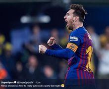 Lionel Messi Dinobatkan Sebagai Penendang Bebas Terbaik Sepanjang Masa versi Netizen