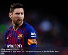 Terungkap Perkataan yang Dilontarkan Lionel Messi Usai Benturan dengan Chris Smalling
