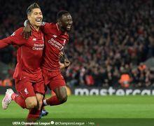 Aksi Gila Naby Keita, Nekat Copot Perban Usai Liverpool Lolos ke Final Liga Champions