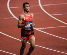 Wow! Detik-detik Lalu Muhammad Zohri Pecahkan Rekor Nasional Miliknya dan Lolos ke Olimpiade Tokyo 2020