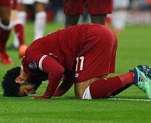 Mohamed Salah Punya Peran Penting Meski Absen dalam Leg Kedua Lawan Barcelona