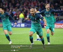 Mengenal Lucas Moura, Penghancur Harapan Ajax di Menit-menit Akhir