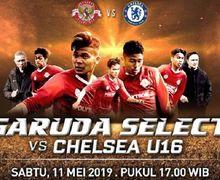 Hasil Garuda Select Vs Chelsea U-16, Laga Ujicoba Pamungkas di Inggris Berakhir dengan Kekalahan Telak