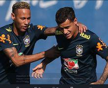 Bikin Ngakak! Momen Neymar Dipermalukan Bocah 19 Tahun saat Latihan Bersama Timnas Brasil