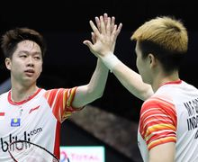 Link live streaming Indonesia Open 2019 - Duel Seru Marcus/Kevin vs Duo Menara China Terjadi Hari Ini!