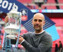 Makna di Balik Topi Pep Guardiola Saat Perayaan Kemenangan Manchester City, Ada Janjinya pada Seorang Wanita?