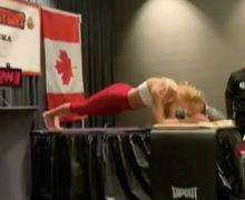 Pecahkan Rekor Dunia, Wanita asal Kanada Ungkap Kunci Sukses Lakukan Plank Selama 4 Jam