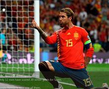 3 Warna Baju yang Diharamkan dalam Pernikahan Sergio Ramos