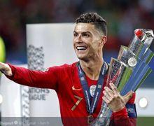 Sedang Viral! Cristiano Ronaldo Ceramahi Timnas Portugal di Ruang Ganti