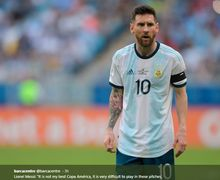 Tiga Hal yang Bikin Petenis Dunia Ini 'Jatuh Cinta' pada Lionel Messi