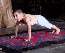 Seorang Bocah 6 Tahun Dapat Hadiah Apartemen Setelah Berhasil Push-up 2 Jam Nonstop