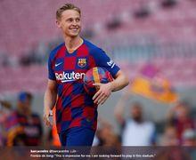 Demi Frenkie de Jong, Gelandang Barcelona Rela Ganti Nomor Punggung