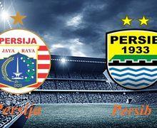 Sedang Berlangsung! Live Streaming Persija Vs Persib di Liga 1 2019 Pekan ke-8