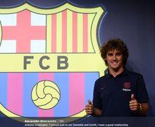 Antoine Griezmann Akui Tak Sabar Pelajari Gaya Permainan Lionel Messi