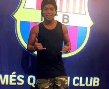 Asal-usul Sebutan Gaucho untuk Mantan Bintang Barcelona, Ronaldinho!