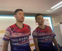 Kesal Dikalahkan Duo Menara China, Pebulu Tangkis Ini Banting Raket Sampai Bengkok