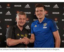 Gabung Manchester United, Harry Maguire Jadi Bek Termahal di Dunia