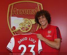 Baru Seminggu di Arsenal, David Luiz Langsung Akrab dengan Seniornya