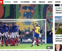 Video - Setelah 22 Tahun Roberto Carlos Ulangi Tendangan Pisang saat Melawan Perancis