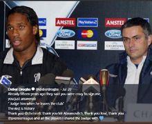 Kata-kata Jose Mourinho yang Bikin Didier Drogba Enggan Tinggalkan Chelsea