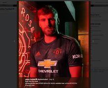 Resmi Drilis, Ada Rahasia Bunga Mawar Selama 110 Tahun di Balik Jersey Ketiga Manchester United