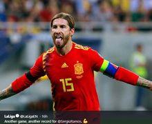 Sergio Ramos Dipilih Sebagai Olahragawan dengan Tato Terburuk, Mike Tyson dan David Beckham Tempati Urutan Ini