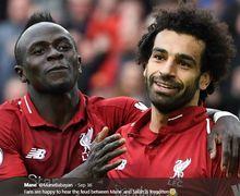 Sadio Mane Protes Soal Bola, Mohamed Salah: Saya Tidak Melihatmu