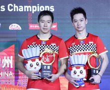 Juarai China Open 2019, Marcus/Kevin Bawa Pulang Uang Hadiah Segini Besarnya
